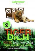 Print-Anzeige  # 350790 für Greenpeace Plakat-Wettbewerb 2014: Sujet für Plakat Kampagne zum Schutz des Sumatra Tigers Wettbewerb
