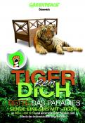 Print ad # 350805 for Greenpeace Poster contest 2014: Campaign for the protection of the Sumatra Tiger contest