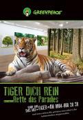 Print-Anzeige  # 350806 für Greenpeace Plakat-Wettbewerb 2014: Sujet für Plakat Kampagne zum Schutz des Sumatra Tigers Wettbewerb