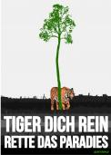 Print ad # 350839 for Greenpeace Poster contest 2014: Campaign for the protection of the Sumatra Tiger contest
