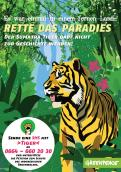 Print ad # 350824 for Greenpeace Poster contest 2014: Campaign for the protection of the Sumatra Tiger contest