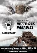 Print-Anzeige  # 350421 für Greenpeace Plakat-Wettbewerb 2014: Sujet für Plakat Kampagne zum Schutz des Sumatra Tigers Wettbewerb