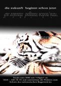 Print-Anzeige  # 346306 für Greenpeace Plakat-Wettbewerb 2014: Sujet für Plakat Kampagne zum Schutz des Sumatra Tigers Wettbewerb
