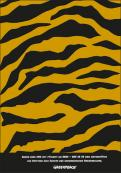 Print-Anzeige  # 350207 für Greenpeace Plakat-Wettbewerb 2014: Sujet für Plakat Kampagne zum Schutz des Sumatra Tigers Wettbewerb