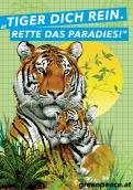 Print-Anzeige  # 340224 für Greenpeace Plakat-Wettbewerb 2014: Sujet für Plakat Kampagne zum Schutz des Sumatra Tigers Wettbewerb