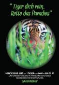 Print-Anzeige  # 344677 für Greenpeace Plakat-Wettbewerb 2014: Sujet für Plakat Kampagne zum Schutz des Sumatra Tigers Wettbewerb