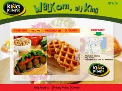 Website design # 172882 voor KING Kumpir website challenge wedstrijd