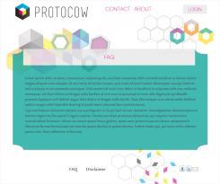 Website design # 184040 voor Ontwerp webpagina's voor een online 3D print concept wedstrijd