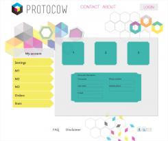 Website design # 184041 voor Ontwerp webpagina's voor een online 3D print concept wedstrijd
