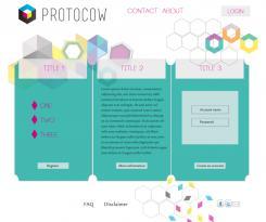 Website design # 184042 voor Ontwerp webpagina's voor een online 3D print concept wedstrijd