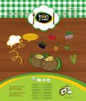 Website design # 183046 voor KING Kumpir website challenge wedstrijd