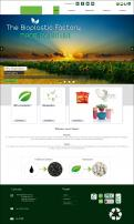Website design # 438401 voor The Bioplastic Factory..we do good, but we want to do great with our new website! wedstrijd