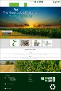 Website design # 438407 voor The Bioplastic Factory..we do good, but we want to do great with our new website! wedstrijd