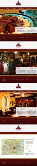 Webpagina design # 441716 voor Ontwerp nieuw logo & website in arabische oosterse sferen voor marokkaans eethuis & lounge wedstrijd