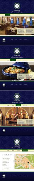 Webpagina design # 442026 voor Ontwerp nieuw logo & website in arabische oosterse sferen voor marokkaans eethuis & lounge wedstrijd