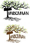Visitekaartje # 1054407 voor Timberman Boom   Landschap wedstrijd
