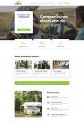 Webpagina design # 1186724 voor Ontwerp webpagina voor camperverhuurplatform wedstrijd