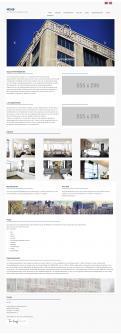 Webpagina design # 319304 voor Website appartementen Den Haag wedstrijd