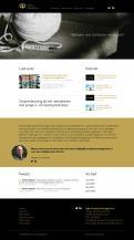 Webpagina design # 984611 voor Ontwerp een fris modern logo en webpagina voor een nieuwe blog en vlog over projectmanagement wedstrijd