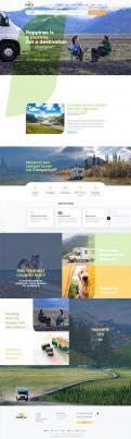 Webpagina design # 1186802 voor Ontwerp webpagina voor camperverhuurplatform wedstrijd
