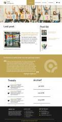 Webpagina design # 985949 voor Ontwerp een fris modern logo en webpagina voor een nieuwe blog en vlog over projectmanagement wedstrijd