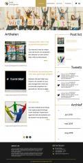 Webpagina design # 986201 voor Ontwerp een fris modern logo en webpagina voor een nieuwe blog en vlog over projectmanagement wedstrijd