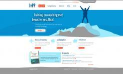 Webpagina design # 83373 voor Logo en Homepage modern Training en Coachingbedrijf wedstrijd