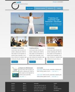 Webpagina design # 82883 voor Logo en Homepage modern Training en Coachingbedrijf wedstrijd