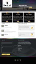 Webpagina design # 445260 voor Ontwerp een (sportief) zakelijk (B2B!) design voor Hat-trick Sales & Consultancy! wedstrijd