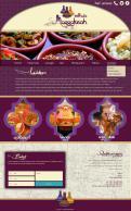 Webpagina design # 438970 voor Ontwerp nieuw logo & website in arabische oosterse sferen voor marokkaans eethuis & lounge wedstrijd