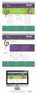 Webpagina design # 79233 voor Logo en Homepage modern Training en Coachingbedrijf wedstrijd