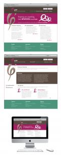 Webpagina design # 79235 voor Logo en Homepage modern Training en Coachingbedrijf wedstrijd