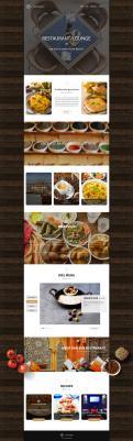 Webpagina design # 441022 voor Ontwerp nieuw logo & website in arabische oosterse sferen voor marokkaans eethuis & lounge wedstrijd