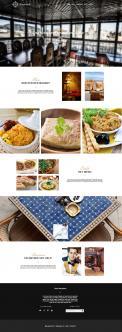 Webpagina design # 438884 voor Ontwerp nieuw logo & website in arabische oosterse sferen voor marokkaans eethuis & lounge wedstrijd
