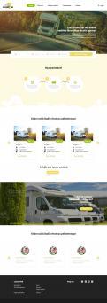 Webpagina design # 1191420 voor Ontwerp webpagina voor camperverhuurplatform wedstrijd