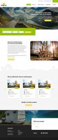 Webpagina design # 1186712 voor Ontwerp webpagina voor camperverhuurplatform wedstrijd