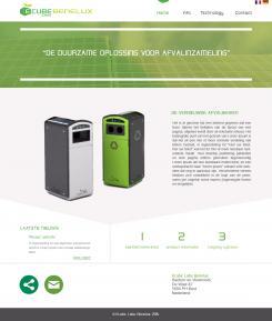 Webpagina design # 351479 voor Ecube Labs Benelux wedstrijd
