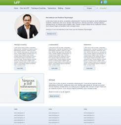 Webpagina design # 79346 voor Logo en Homepage modern Training en Coachingbedrijf wedstrijd
