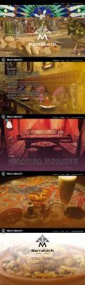 Webpagina design # 441376 voor Ontwerp nieuw logo & website in arabische oosterse sferen voor marokkaans eethuis & lounge wedstrijd