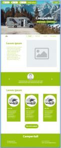 Webpagina design # 1189390 voor Ontwerp webpagina voor camperverhuurplatform wedstrijd