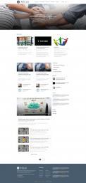 Webpagina design # 985333 voor Ontwerp een fris modern logo en webpagina voor een nieuwe blog en vlog over projectmanagement wedstrijd