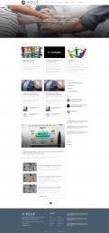 Webpagina design # 985775 voor Ontwerp een fris modern logo en webpagina voor een nieuwe blog en vlog over projectmanagement wedstrijd