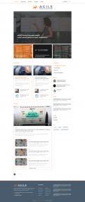Webpagina design # 986478 voor Ontwerp een fris modern logo en webpagina voor een nieuwe blog en vlog over projectmanagement wedstrijd