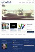 Webpagina design # 984180 voor Ontwerp een fris modern logo en webpagina voor een nieuwe blog en vlog over projectmanagement wedstrijd