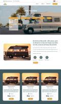 Webpagina design # 1185958 voor Ontwerp webpagina voor camperverhuurplatform wedstrijd