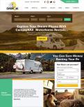 Webpagina design # 1186574 voor Ontwerp webpagina voor camperverhuurplatform wedstrijd