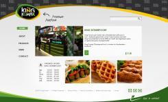 Website design # 177106 voor KING Kumpir website challenge wedstrijd