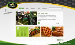 Website design # 177110 voor KING Kumpir website challenge wedstrijd