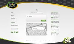 Website design # 175445 voor KING Kumpir website challenge wedstrijd