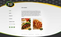 Website design # 175448 voor KING Kumpir website challenge wedstrijd